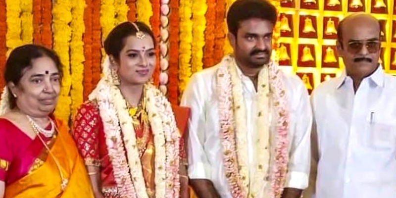 Serial actress Swathi Nithyanand enters wedlock - MS&A