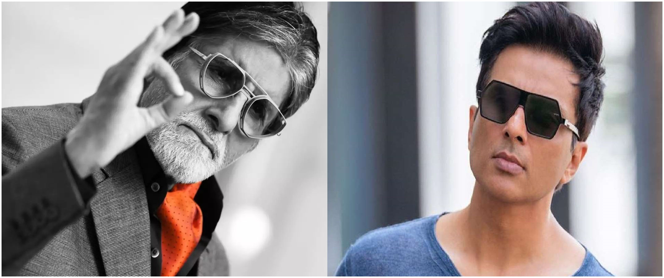 Bollywood actor Sonu Sood is compared to Amitabh Bachchan by a fan, actor's humble reply!