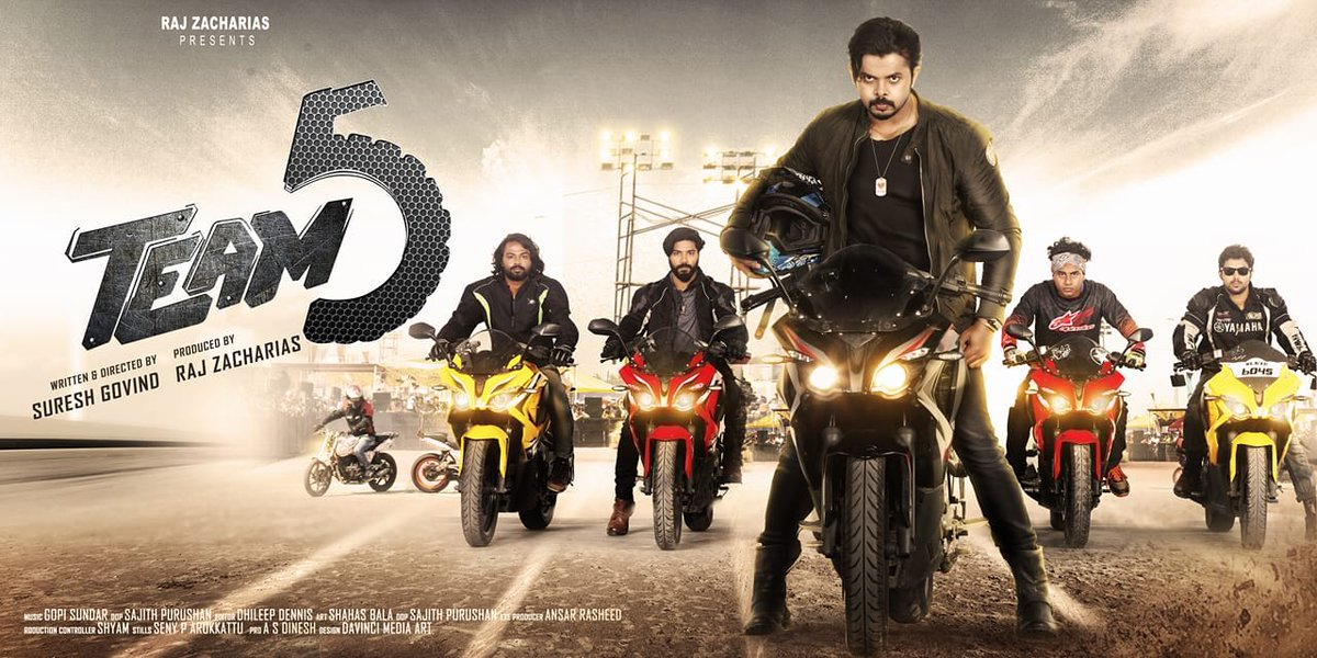 Team 5 Malayalam Movie Preview - MS&A